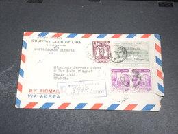 PEROU - Enveloppe De Lima En Recommandé Pour La France En 1948 - L 20438 - Pérou