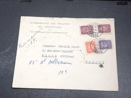 PORTUGAL - Enveloppe De L 'Ambassade De France En 1950 Pour La France - L 20439 - Lettres & Documents