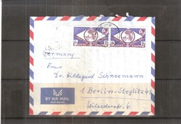 Cover From Ethiopia To Germany (with Contents) - 1964 (to See) - Ethiopie