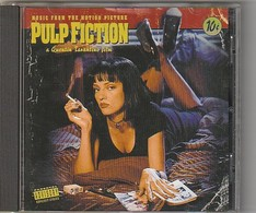 Cd MUSIQUES Film PULP FICTION  De Tarantino  Etat: TTB Port 110 Gr Ou 30gr - Soundtracks, Film Music