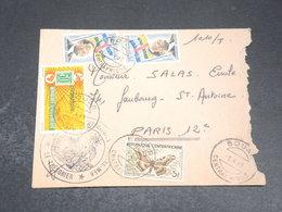 CENTRAFRIQUE - Enveloppe De Bouar Pour La France En 1965 - L 20448 - Centrafricaine (République)