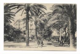 TUNIS - SQUARE DE L'AVENUE DE PARIS - VIAGGIATA FP - Tunisia