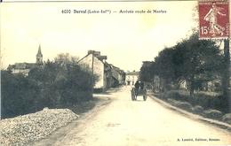 44 DERVAL L ENTREE ROUTE DE NANTES EDITEUR LAMIRE A RENNES - Derval