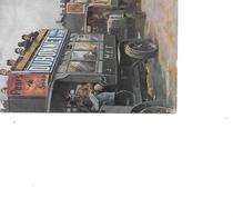 CARTE POSTALE PUB DUBONNET - Advertising