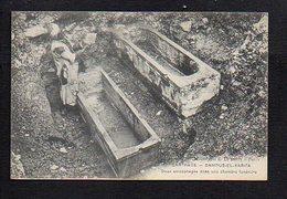 Tunisie / Carthage / Damous El Karita,deux Sarcophages Dans Une Chambre Funéraire - Tunisie