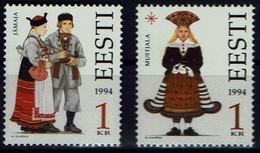 Estland Eesti 1994 - Trachten - MiNr 235-236 - Kostüme