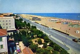 Rimini - Lungomare E Spiaggia - Formato Grande Viaggiata – E 6 - Rimini