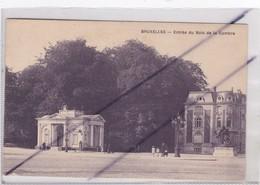 Belgique ; Bruxelles ; Entrée Du Bois De La Cambre - Forests, Parks