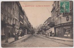 Manche :  GRANVILLE : La  Rue Le  Campion - Granville