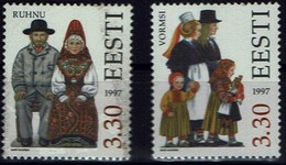 Estland Eesti 1997 - Trachten - MiNr 306-307 - Kostüme