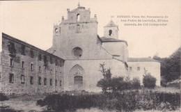 BURGOS. VISTA DEL MONASTERIO SAN PEDRO DE CARDEÑA, ULTIMA MORADA DEL CID CAMPEADOR. HAUSER Y MENET. CIRCA 1900's- BLEUP - Burgos
