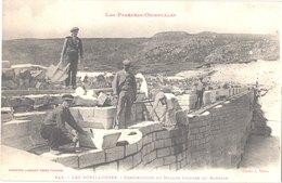 FR66 LES BOUILLOUSES - Labouche 545 - Construction Du Masque étanche Du Barrage - Animée - Belle - Autres Communes
