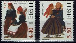 Estland Eesti 2002 - Trachten - MiNr 448-449 - Kostüme