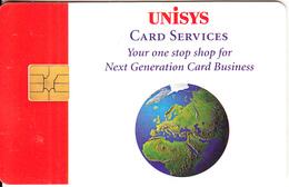 USA - Unisys Card Services, Demo Card - [2] Chipkarten