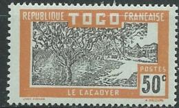 Togo   -  Yvert N°  136 *  -  Ava 19329 - Togo (1914-1960)