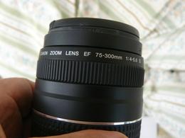 BEAUTIFUL LENS  CANON  ULTRASONIC  75-300 M..PERFECT WORKING  / OBIETTIVO CANON75-300m. COME NUOVO - Lenses