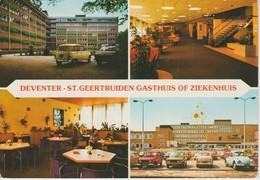 (NE476) DEVENTER. ST GEERTRUIDEN GASTHUIS ... OLD CAR - Deventer