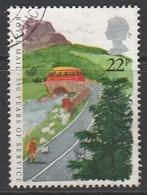 GB 1985 350 Years Of Royal Mail Public Postal Service 22 P Multicoloured SG 1291 O USED - 1952-.... (Elisabeth II.)
