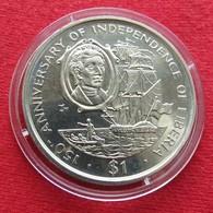 Liberia 1 $ 1997 Independence 150 Years. Sail Ship - Liberia
