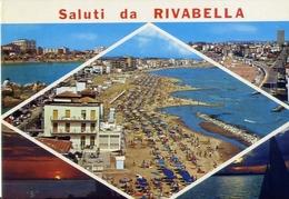 Saluti Da Rivabella - Formato Grande Viaggiata – E 6 - Rimini