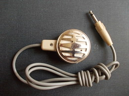 ANCIEN MICROPHONE CRAVATE OLD TIE MICROPHONE Made In Japan - Sciences & Technique