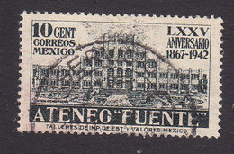Mexico, Scott #780, Used, Fuente Academy, Issued 1942 - Mexico