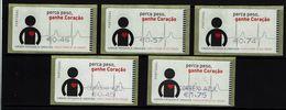 Portugal , ATM  , SMD  , 2005 , Heart , Cardiology , Health ,  Coeur , Cardiologie , Santé - Vignette Di Affrancatura (ATM/Frama)