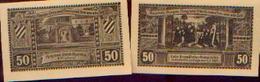 ALLEMAGNE – HOYM I/ ANHALT - 17/05/1921 - Lot De 2 Billets De Nécessité Différents - [11] Emissions Locales