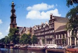 Amsterdam - Prinsengracht Met Westertoren - Formato Grande Viaggiata – E 6 - Cartoline
