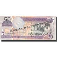 Billet, Dominican Republic, 50 Pesos Oro, 2004, 2004, Specimen, KM:170s4, NEUF - Dominicaine