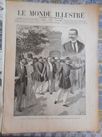 LE MONDE ILLUSTRE 10/06/1899 AUTEUIL BARON CHRISTIANI MADAGASCAR GALLIENI IVONDRO MALVATSAR DJIBOUTI BAYADE  ROBIQUET - Journaux - Quotidiens