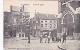 ENTREE DE L'EGLISE    INGANG VAN DE KERK - Sint-Pieters-Leeuw
