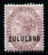 ZULULAND 1888 - From Set MH* - Zululand (1888-1902)