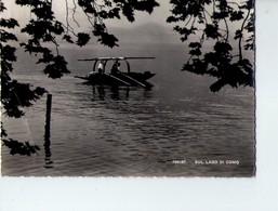 U3137 Cartolina 1947 PARTICOLARE IMBARCAZIONE SUL LAGO DI COMO - BARCA BARQUE _ FOTOED. BRUNNER E C. - Barche