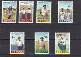Santa Lucia Nº 418 Al 424 - St.Lucia (1979-...)