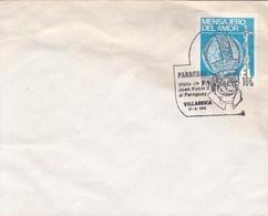PARAGUAY. VISITA DE JUAN PABLO II. VILLABRICA 1988.- BLEUP - Paraguay