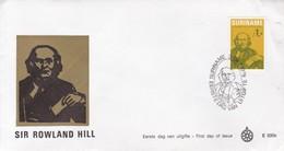 FDC. SIR ROWLAND HILL. SURINAME YEAR 1979.- BLEUP - Surinam