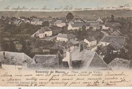Souvenir De  Macon - Lez - Chimay ,Place Verte Ou Vichy ,COLORISEE - Momignies