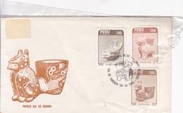 FDC. CULTURA WARI. YEAR 1985.- BLEUP - Perú