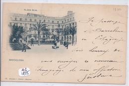 BARCELONA- PLAZA REAL-1900 - Barcelona