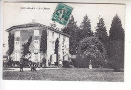 Sp- 54 - CROISMARE - Le Chateau - Femme - Homme - Chien - Timbre - Cachet - 1909 - Francia