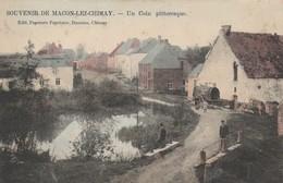 Souvenir De  Macon - Lez - Chimay , Un Coin Pittoresque ,COLORISEE - Momignies