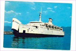 M6891 NAVIGAZIONE Traghetto Sibari Villa San Giovanni 1971 Viaggiata - Commercio