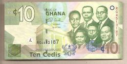 Ghana - Banconota Circolata Da 10 Cedis P-39a - 2007 - Ghana