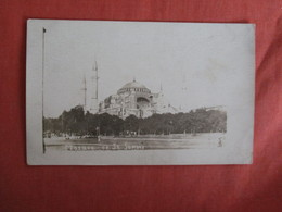 RPPC  Mosque Of St Sophi   Ref. 3011 - Turkey