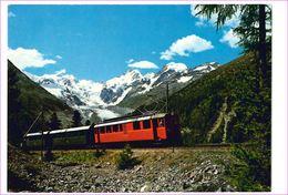 M6894 Ferrovia Treno Locomotore Germania Berninagruppe Non Viaggiata - Eisenbahnen