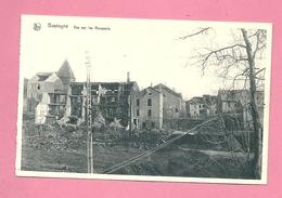 C.P. Bastogne = Ruines Après Le Siège Dec 1944 : Vue  Sur  Les  Remparts - Bastogne