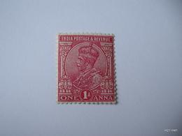INDIA 1911 King George V. 1As SG 161 MNH. - 1911-35 King George V