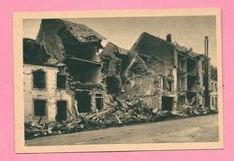 C.P. Bastogne = Ruines Après Le Siège Dec 1944 : - Bastogne