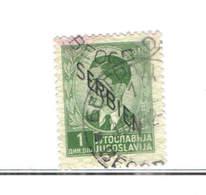 Serbia Occup.German PO .1941 Tipo Jugoslavia 1939/40 Ovpr. Scott.2N 18+See Scan On Scott.Page - Serbia